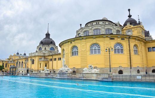 Les bains thermaux Széchenyi