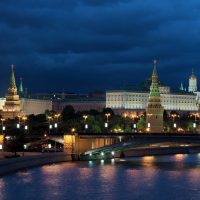 Visite nocturne de Moscou (en option)