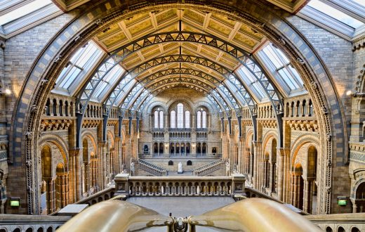 Natural History Museum	(Londres)